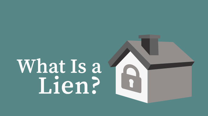 Definition of a property lien