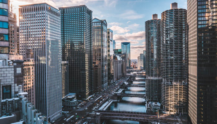 A View of Downtown Chicago